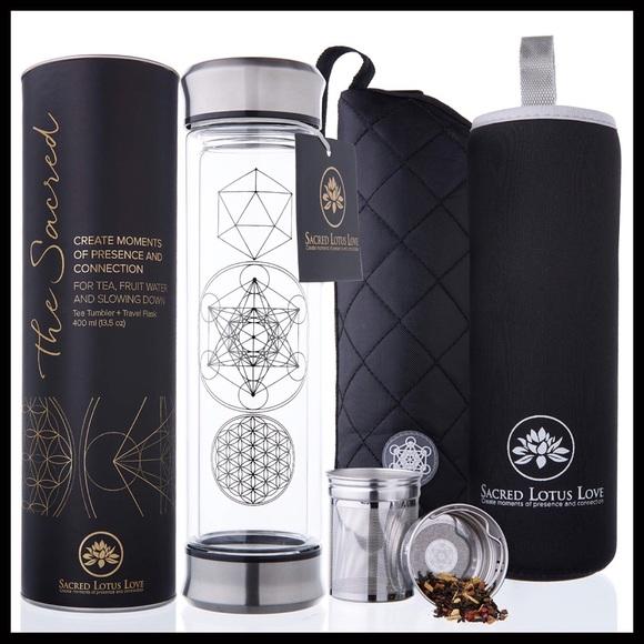 🌼NEW: Sacred Geometry Stainless Steel Bottle